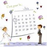 Comment choisir une date de mariage